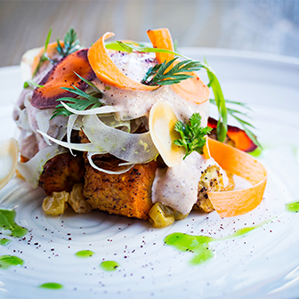 Seasonal dishes at DBGB