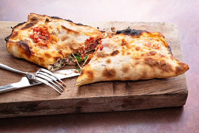 Calzone from Piccolina at CityCenterDC