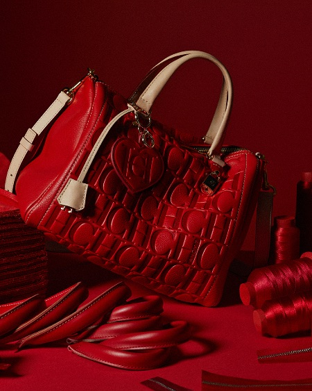 Carolina Herrera Leather Bag