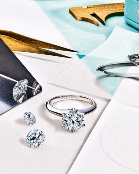 Tiffany diamond rings