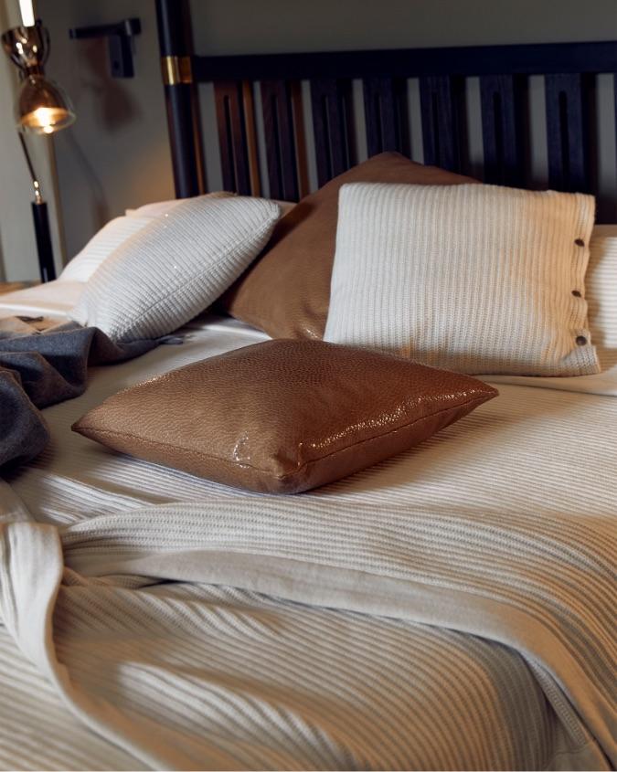 Cashmere bedding by Brunello Cucinelli