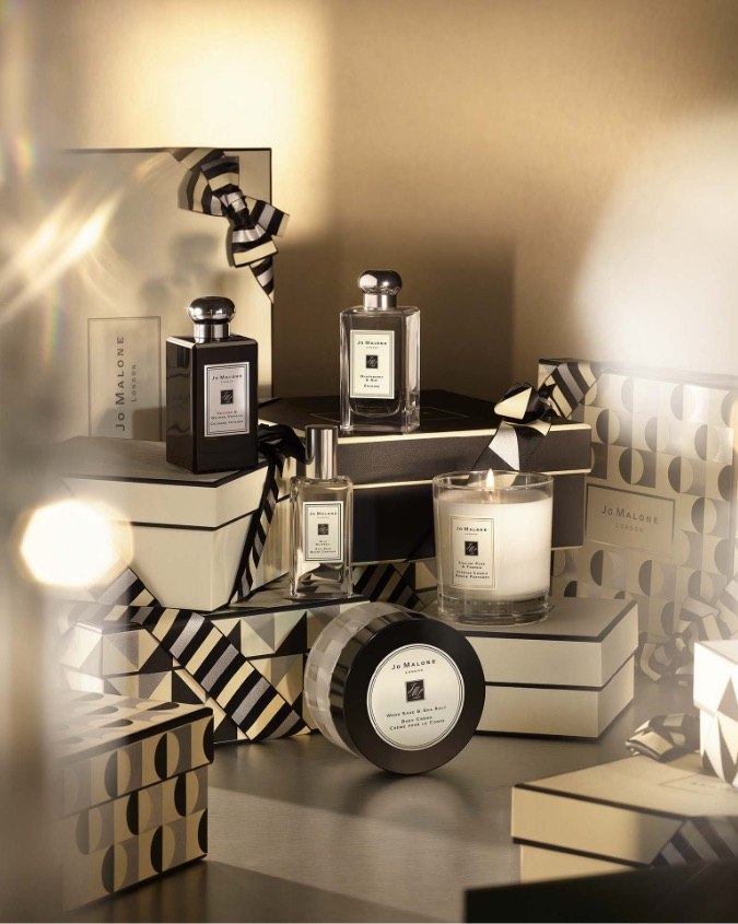 Perfume and candles by Jo Malone