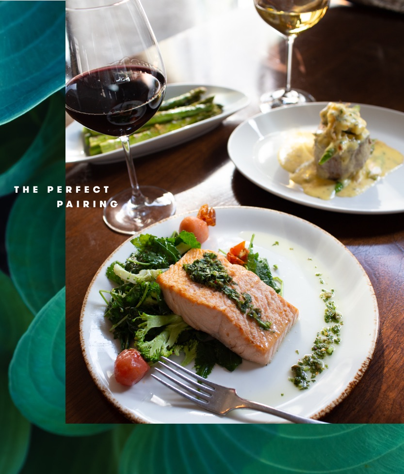 The Perfect Pairing: Pan-roasted salmon and Siduri Pinot Noir at Del Frisco's